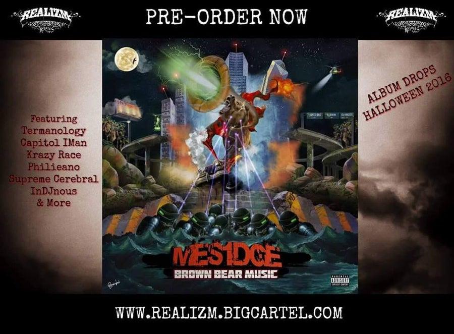 "Image of Mesidge ""Brown Bear Music"" CD w/ Free Stickers"
