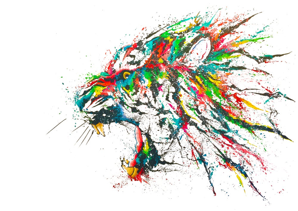 Image of TIGRIS (Limited Edition Print)