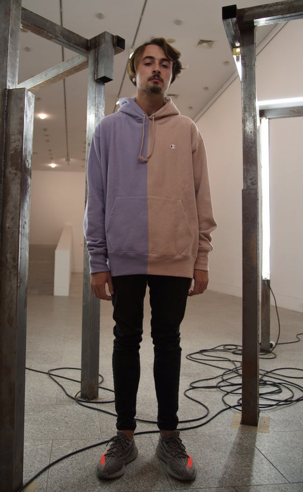 Image of Daisy Storm x Champion Reverse Weave® Hoodie 1 - Mismatched Series