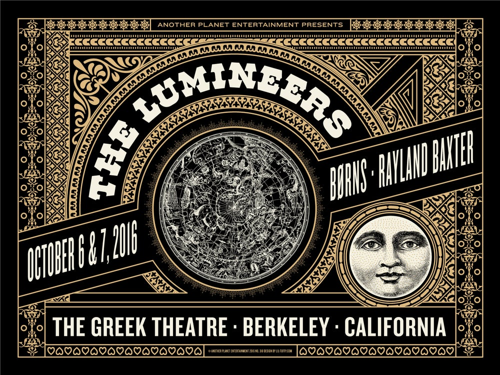 Image of Lumineers - Berkeley 2016