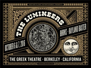 Image of Lumineers - Berkeley 2016
