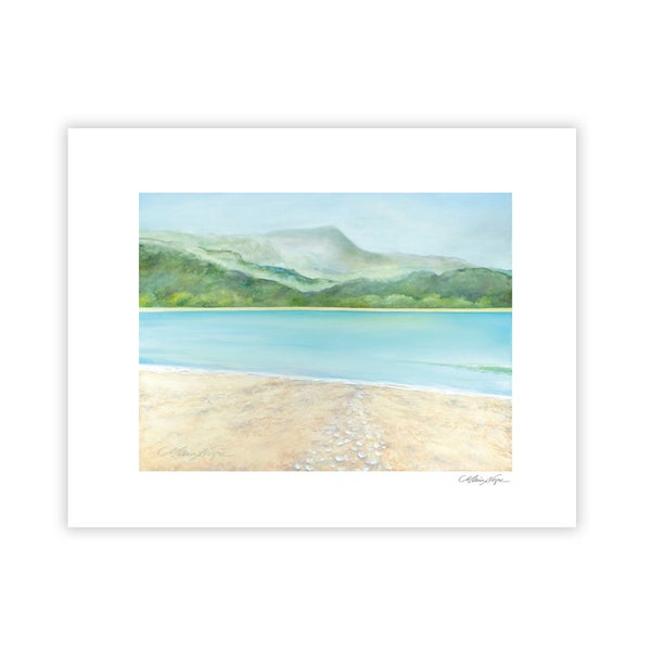 Image of Hanalei Bay, Archival Paper Print