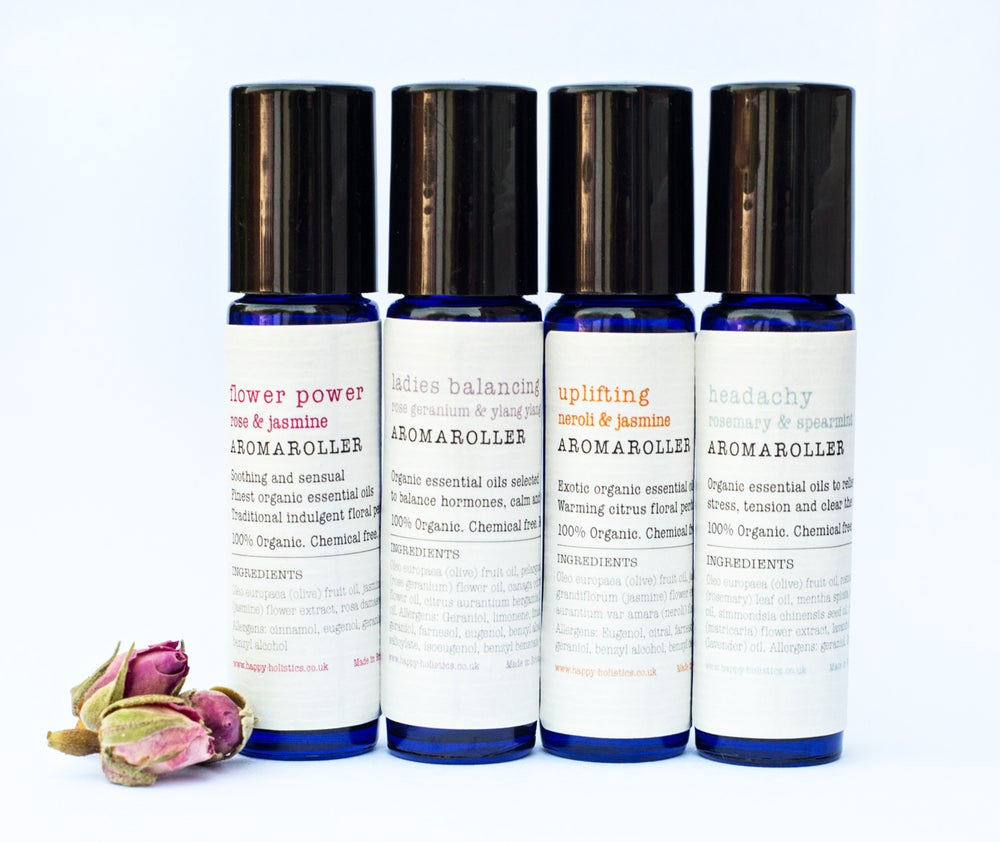 Image of Aromaroller - Organic pulse point Aromatherapy oils - Soil Association certified