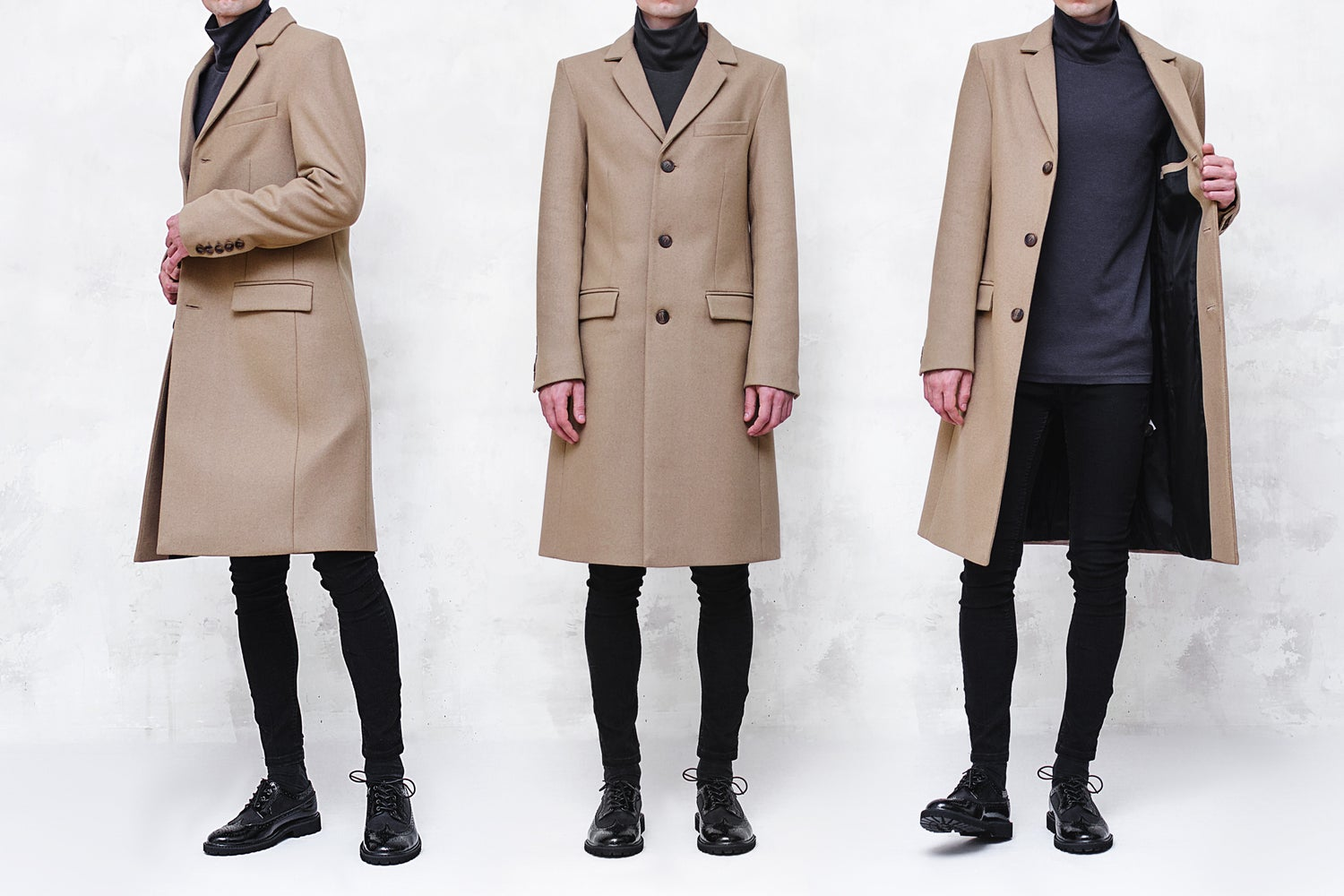 Image of LIMITED EDITION | Camel Wool-Blend Melton Coat