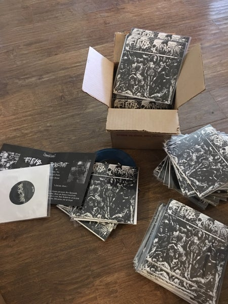 Image of Fiend/recalcitrant split 7 inch