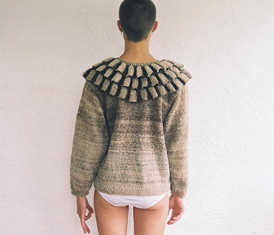 Image of Handspun Arapawa Clown Jumper