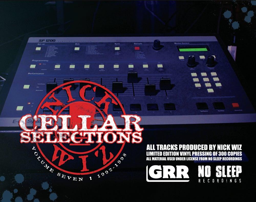 Image of Nick Wiz - Cellar Selections 7 2LP - Black Vinyl