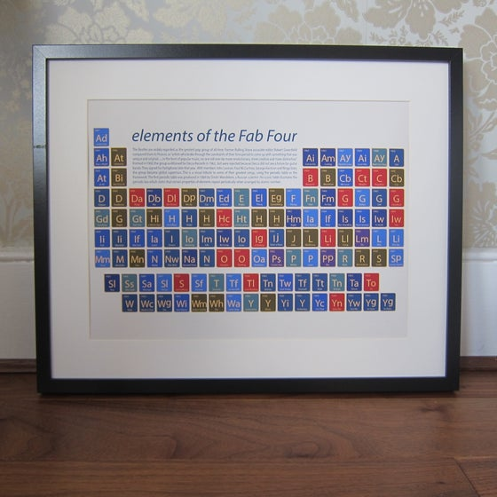 Image of The Beatles - elements of the Fab Four