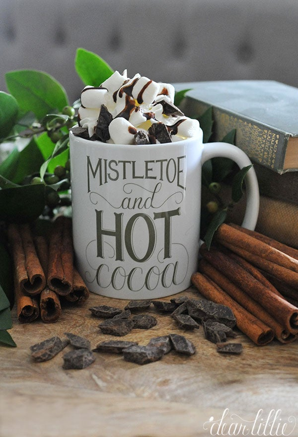 Image of Mistletoe Mug