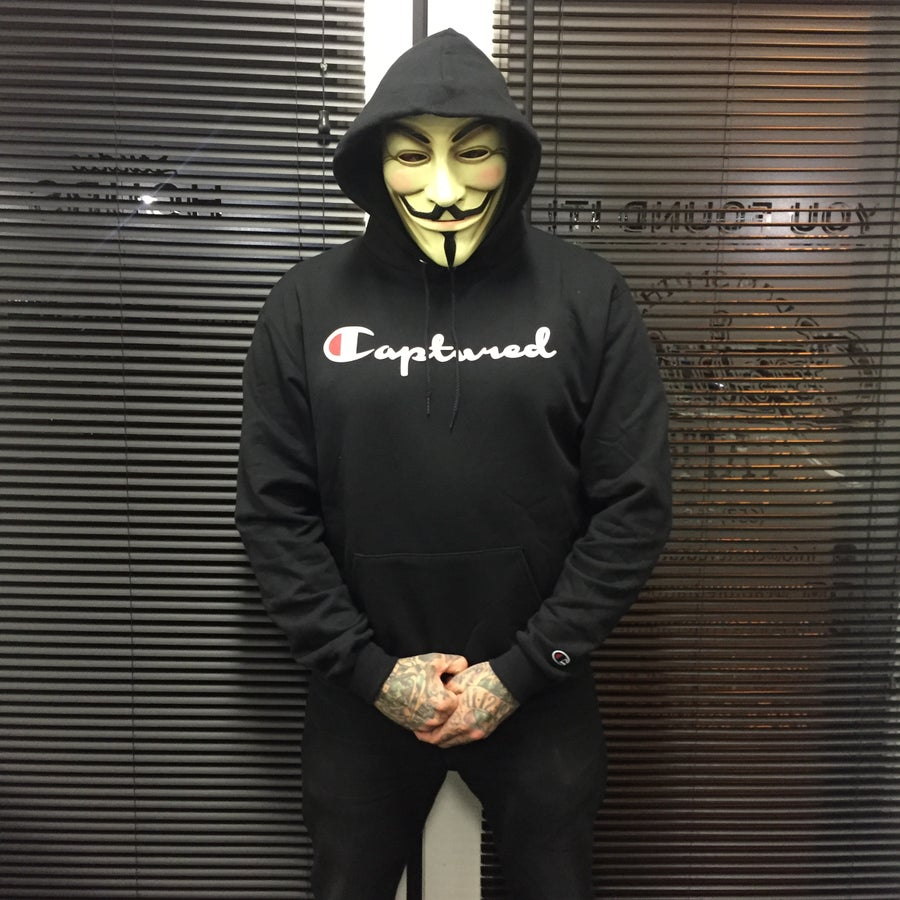 Image of CAPTURED CHAMPION HOODIE