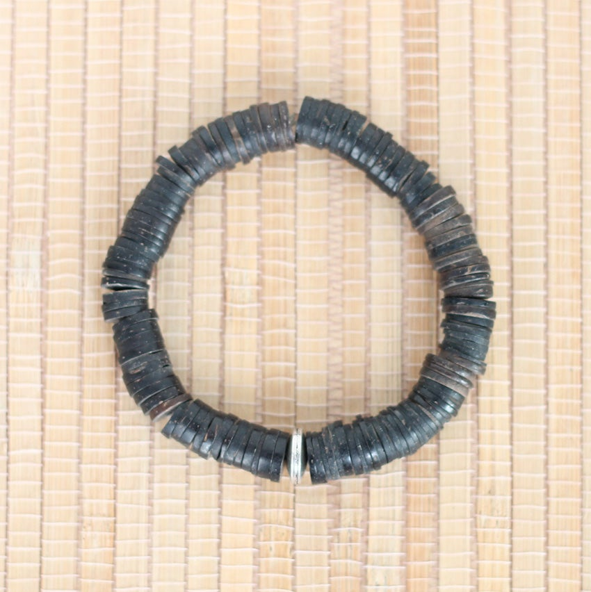 Image of Agbon coconut-shell bracelet