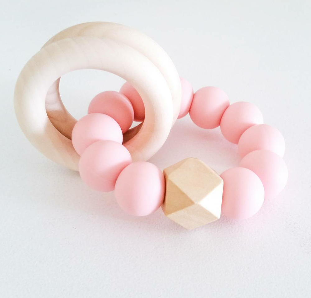 Image of Organic Hexy Rattle (INSTOCK READY TO SHIP)