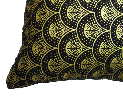 Image of Gold Majesty Throw Pillow