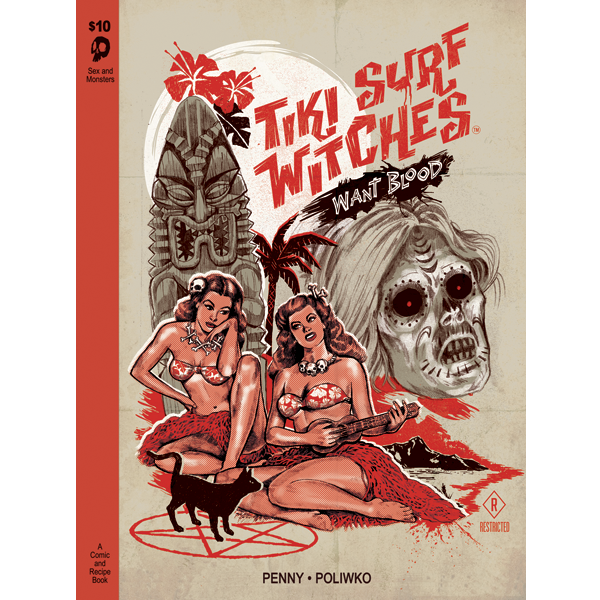 Image of Tiki Surf Witches Want Blood
