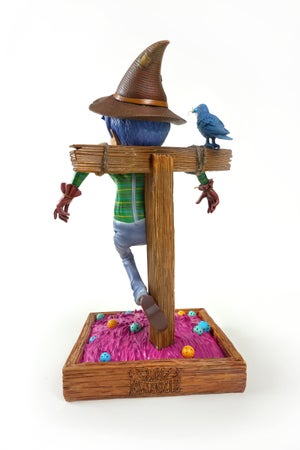 "Image of ""The Scarecrow"" Designer Toy, 10'' Figurine (Signed and Sketched Version)"