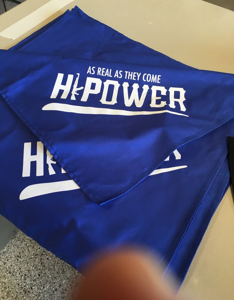 Image of HI POWER AS REAL AS THEY COME BANDANA