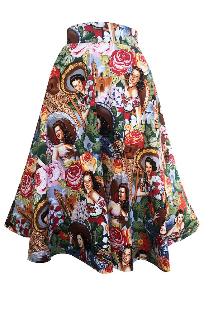 Image of Chiquitita swing skirt
