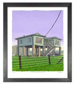 Image of Cultivation Road, South Maitland, digital print