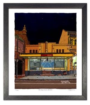 Image of Maitland Post Office. digital print