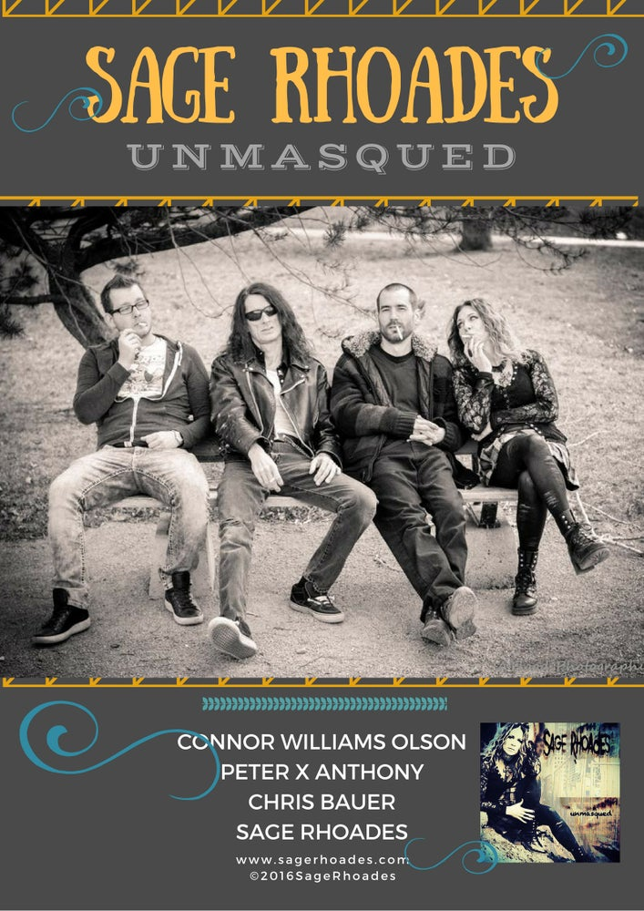 Image of Unmasqued - Poster