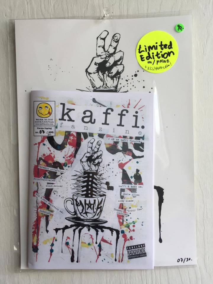 Image of kaffi fanzine Vol.#12 (2016) Limited Edition