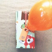 Image of Orange Gift Tags