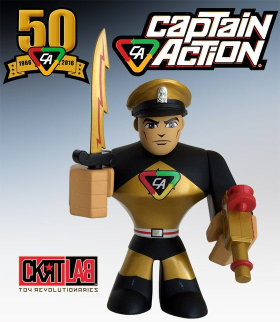 Image of CAPTAIN ACTION: 50TH ANNIVERSARY EDITION