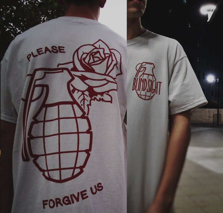 Image of GRENADE - SHIRT ( Light Gray )