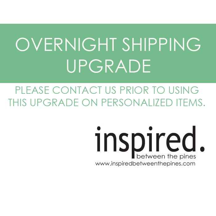 Image of OVERNIGHT / INSURED SHIPMENT UPGRADE