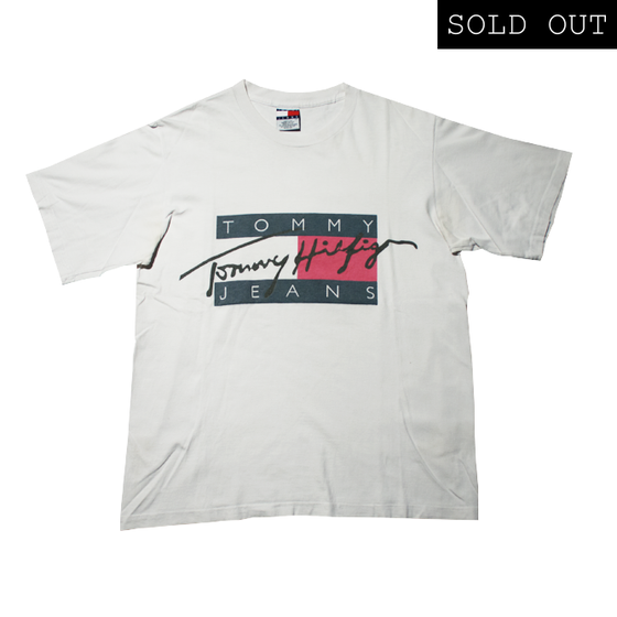 Image of Tommy hilfiger Vintage T Shirt Big Logo