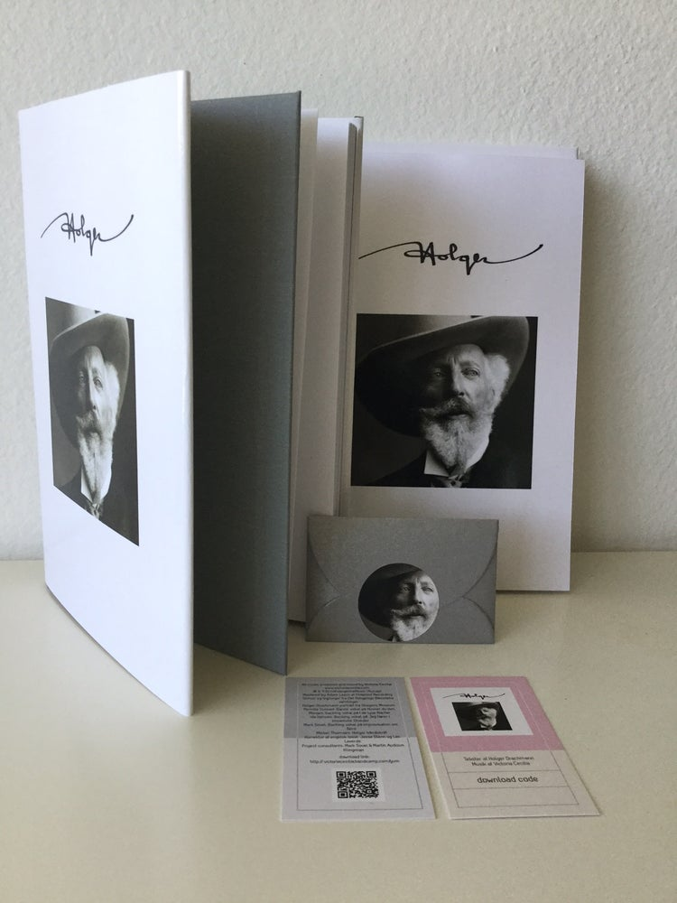 Image of Book (linen hardcover w/ dust jacket) [Includes CD, Postcards and Download Card in Gift Envelope]