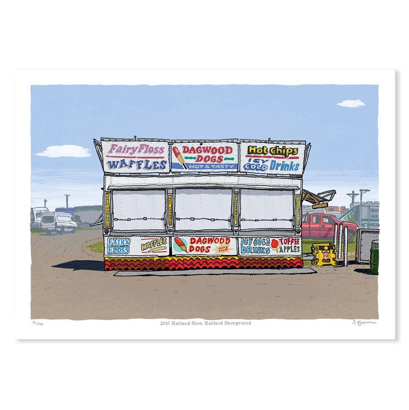 Image of Maitland Show 2016, digital print