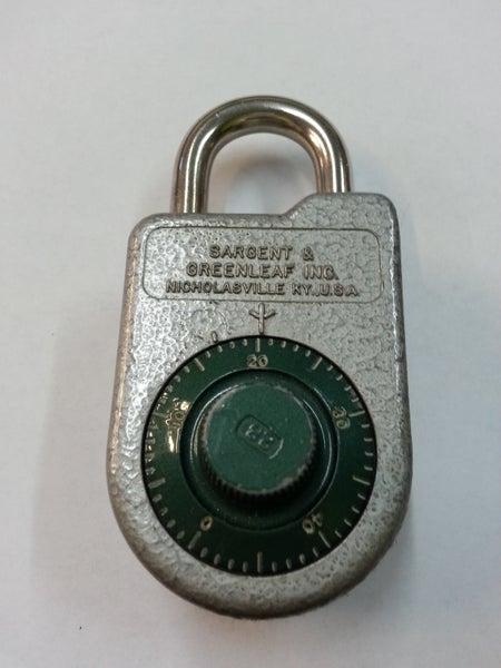 Image of S&G 8088 combo padlock