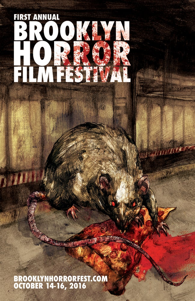 Image of 2016 Brooklyn Horror Fest Poster