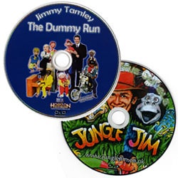 Image of Jimmy Tamley DVD and Jungle Jim DVD