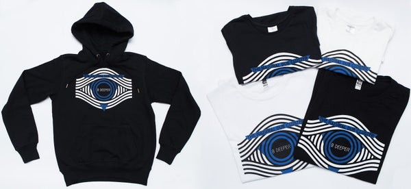 Image of B-Deeper - T-shirt and Hoodie 2016 - read for colors