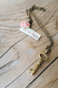 Image of Brass Key Pendant