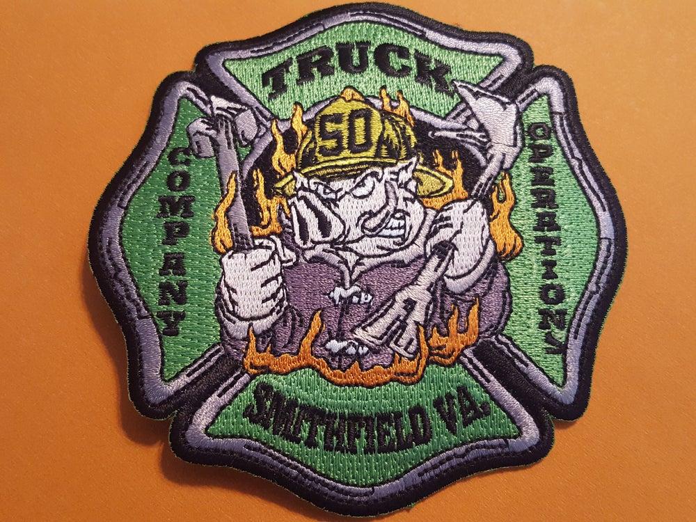 Image of Smithfield VFD Truck Class Patch
