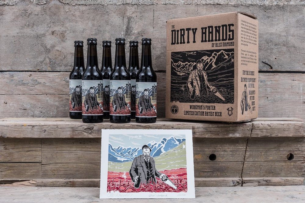 Image of CRAFT BEER BOX: THE DIRTY HANDS OF ALEX DIAMOND
