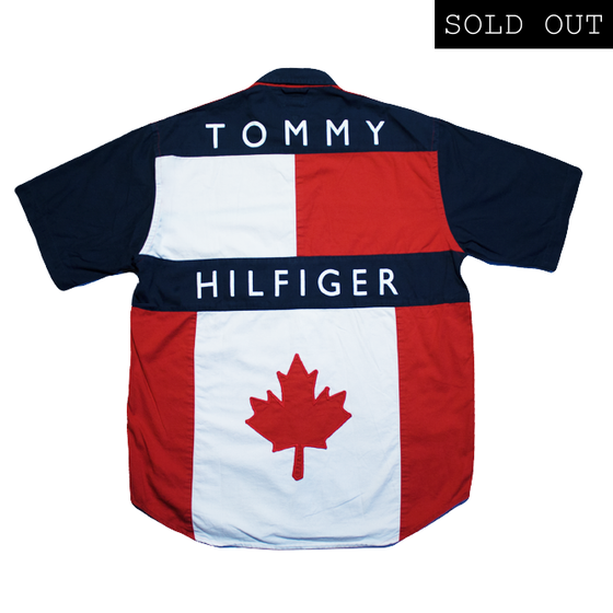 Image of Tommy Hilfiger Vintage Shirt Big Logo