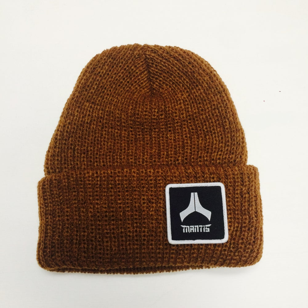 Image of Mantis Beanie Salary Cap copper patch