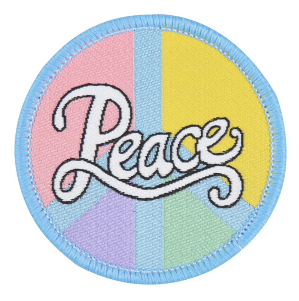 Image of Peace Iron-on Patch