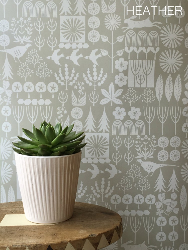 Image of Wallpaper Sample: Woodland