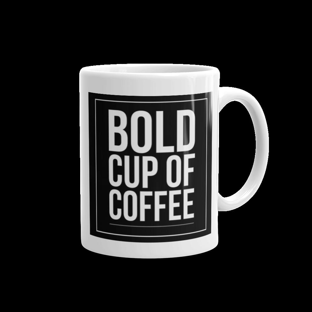 Image of 11oz Black Bold Cup Mug