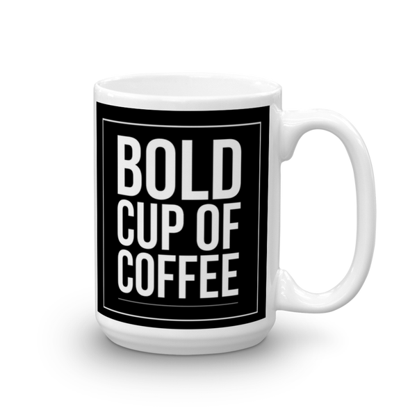 Image of 15oz Black Bolder Cup