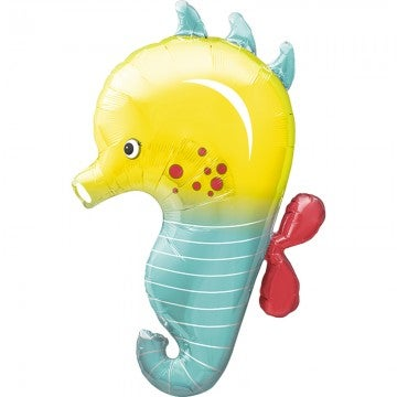 Image of {Sea Horse} Mylar Balloon