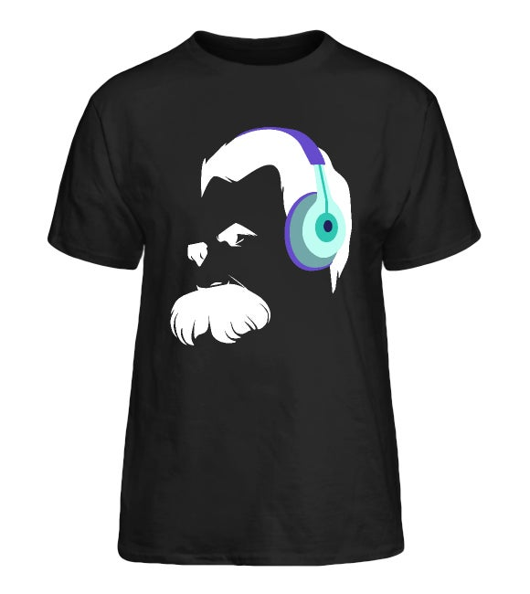 Image of Audiophile Nietzsche Shirts — Black