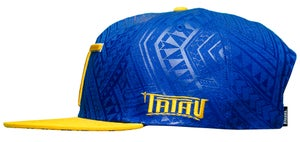 Image of Tatau Rush Royal/Gold Snap Back