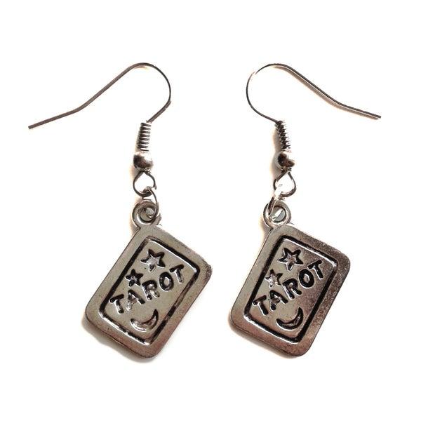 Image of Tarot Card Earrings