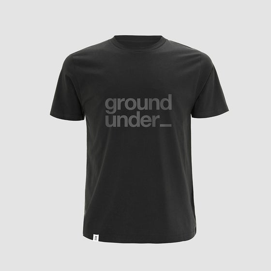 Image of Bedrock Underground t-shirt in Charcoal Grey [PRE-ORDER]